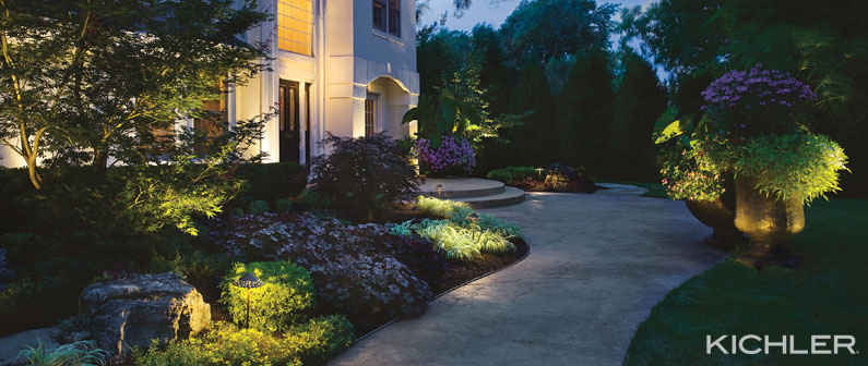 kichler LED landscape lighting