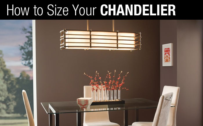 How to size your chandelier