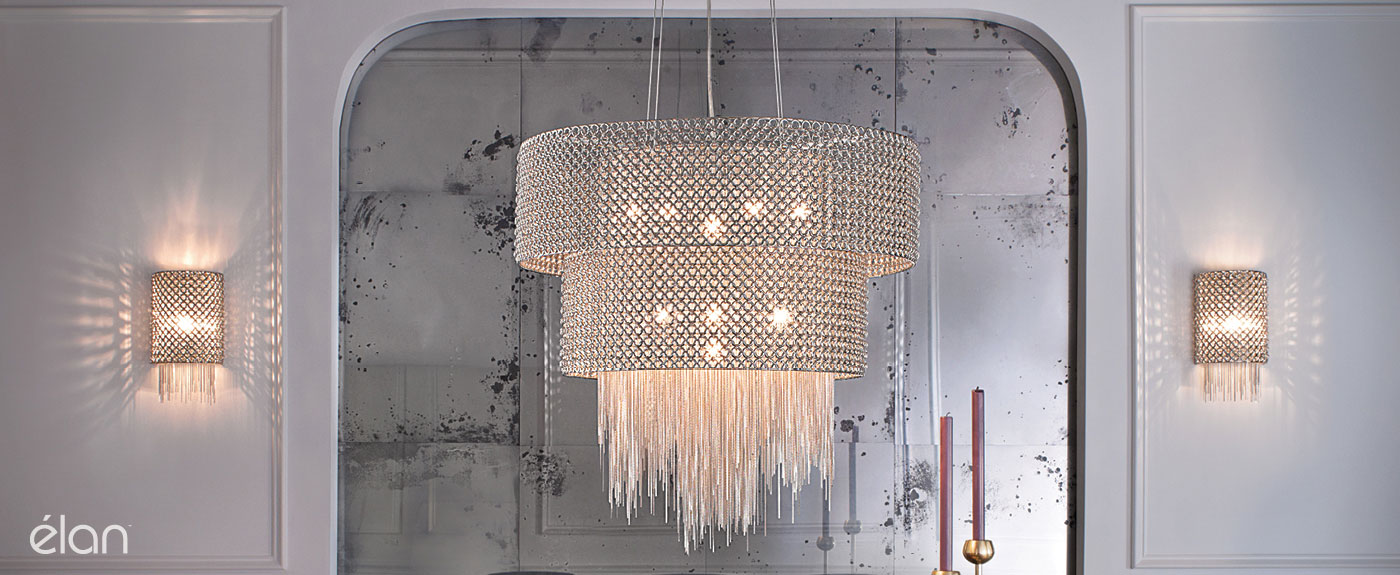 Elan Crystal Chandeliers