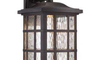 Quoizel Coastal Armour Stonington LED Indoor/Outdoor Wall Light