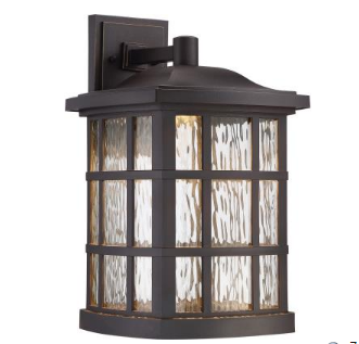 Quoizel Outdoor Lighting Coastal armour finish for outdoor lighting lightstyle of tampa bay view larger image quoizel coastal armour stonington led indooroutdoor wall light workwithnaturefo