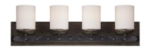 Alsace Four-Light Vanity Fixture