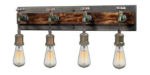 Four-Light Edison Bulb Vanity Light